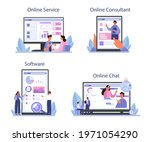 consulting online service or... | Shutterstock .eps vector #1971054290