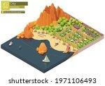 vector isometric caravan or... | Shutterstock .eps vector #1971106493