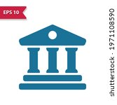 bank  temple icon. professional ...   Shutterstock .eps vector #1971108590