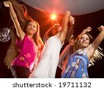 image of happy teenagers... | Shutterstock . vector #19711132