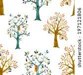 Tree  Watercolor  Baby