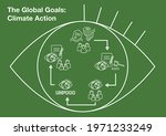 the global goals   climate... | Shutterstock .eps vector #1971233249