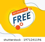 buy one  get one free. for sale ... | Shutterstock .eps vector #1971241196