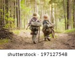 Two Boys Go Hiking With...