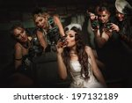 photographers is taking a... | Shutterstock . vector #197132189