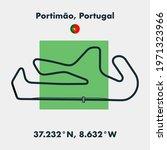 race tracks  circuit for...   Shutterstock .eps vector #1971323966