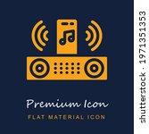 speaker premium material ui ux...