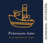 sailing boat premium material...