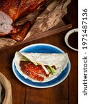 Whole Roasted Pecking Duck With ...