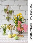 Pring Easter Still Life With...