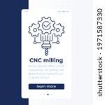 cnc milling  mobile banner...