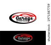 auto detailing service logo... | Shutterstock .eps vector #1971587759