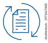 document cycle sketch icon...   Shutterstock .eps vector #1971617600