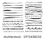 hand drawn vector grunge... | Shutterstock .eps vector #1971638210
