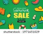 summer sale banner cover...   Shutterstock .eps vector #1971651029
