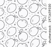 vector seamless pattern with... | Shutterstock .eps vector #1971659330