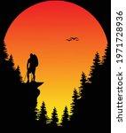 hiking sun adventure t shirt...   Shutterstock .eps vector #1971728936