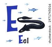 Sea Animals Alphabet. Abc For...