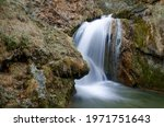 Cascading Waterfall In A...
