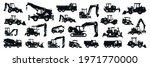 big black white set of... | Shutterstock .eps vector #1971770000