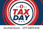 national tax day in the united... | Shutterstock .eps vector #1971805346