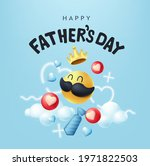 happy fathers day banner... | Shutterstock .eps vector #1971822503