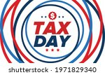 national tax day in the united...   Shutterstock .eps vector #1971829340