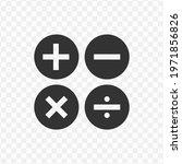 transparent mathematics icon...