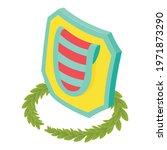 multicolored shield icon.... | Shutterstock .eps vector #1971873290