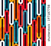 music bright pattern with... | Shutterstock .eps vector #197187758