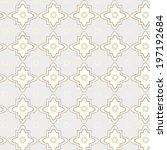 seamless vector pattern lines... | Shutterstock .eps vector #197192684