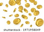etc. ethereum classic gold... | Shutterstock .eps vector #1971958049