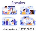 professional speaker concept... | Shutterstock .eps vector #1971968699