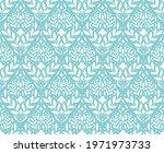 modern floral art deco seamless ... | Shutterstock .eps vector #1971973733