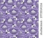 seamless repeat pattern with... | Shutterstock .eps vector #1972014116