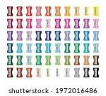 pencil sharpener rainbow set... | Shutterstock .eps vector #1972016486