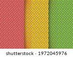 tropical fruit seamless pattern ... | Shutterstock .eps vector #1972045976