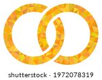 triangle marriage rings...   Shutterstock .eps vector #1972078319