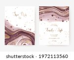 wedding invitation cards with...   Shutterstock .eps vector #1972113560
