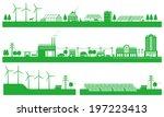 renewable energy. life of the... | Shutterstock .eps vector #197223413