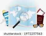 travel destination egypt ... | Shutterstock .eps vector #1972257563