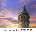 galata tower is a famous...