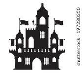 castle vector type d | Shutterstock .eps vector #197230250