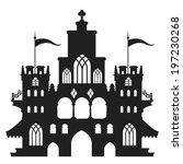castle vector type c | Shutterstock .eps vector #197230268