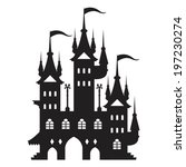 castle vector type e | Shutterstock .eps vector #197230274