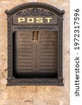 Vintage Mailbox With...