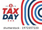 national tax day in the united... | Shutterstock .eps vector #1972357220