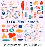 set of vector shapes   boho...   Shutterstock .eps vector #1972383593