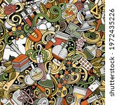 science hand drawn doodles...   Shutterstock .eps vector #1972435226