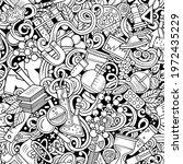 science hand drawn doodles...   Shutterstock .eps vector #1972435229
